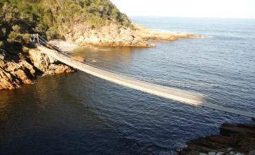 Pont Knysna en voyage en Afrique du Sud