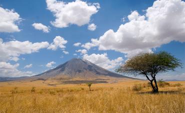 Volcan à Ngorongo en voyage safari en Tanzanie