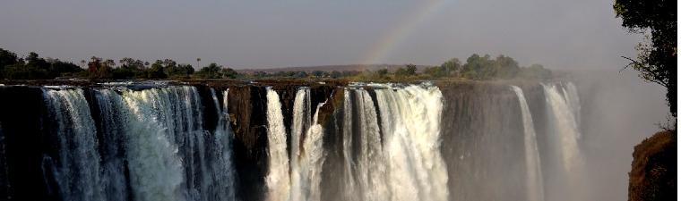 Chutes de Victoria à Victoria Falls en voyage au Zimbabwe